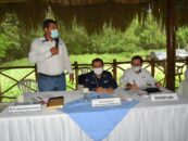 El Gobernador Departamental de Izabal Lic. Héctor Alarcón, estuvo presente en Río Dulce del Municipio de Livingston Izabal, donde se llevó a cabo la tercera reunión ordinaria del Consejo Regional de Desarrollo – COREDUR-.