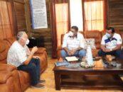 El Gobernador Departamental de Izabal Lic. Héctor Alarcón, tuvo reunión con el Delegado Departamental de MAGA Ing. Álvaro Boche
