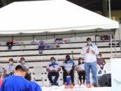 El Sr. Gobernador Departamental de Izabal, Lic. Héctor Alarcón, asistió a la actividad deportiva denominada «Dia del Desafío» promovida por el Ministerio de Cultura y Deportes