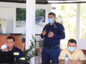 El Gobernador Departamental de Izabal Lic. Héctor Alarcón, convocó a una reunión de trabajo al personal de COVIAL