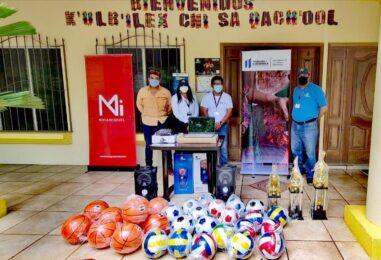 El Gobernador Departamental de Izabal Lic. Héctor Alarcón, extiende un agradecimiento a la Empresa – CGN-PRONICO- por la Importante donación que realizaron a la casa de Desarrollo Cultural del Ministerio de Cultura y Deporte del Municipio de El Estor Izabal