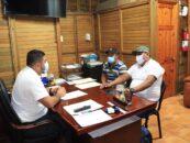 El señor Gobernador Departamental de Izabal, el Lic. Héctor Alarcón tuvo el agrado de recibir a los representantes de las comunidades Guitarras, Monte Alegre, Tamagas, Chocón, Sebenque y Semox