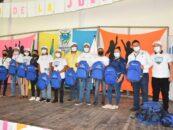 Personal de Gobernación Departamental de Izabal participó en la Juramentación de 40 juntas locales de jóvenes