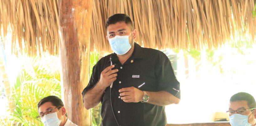 El Gobernador Departamental de Izabal Lic. Héctor Alarcón, sostuvo reunión con representantes de la Comunidades de las Aldeas Sahila, Aldea Centro Dos, Aldea Sebila y Aldea San Jose Buena Vista