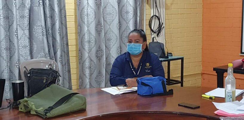 Personal de Gobernación participa en reunión en la Mesa Técnica Departamental de Educación para darle el seguimiento a la quitan entrega de Alimentación Escolar en el Departamento de Izabal.