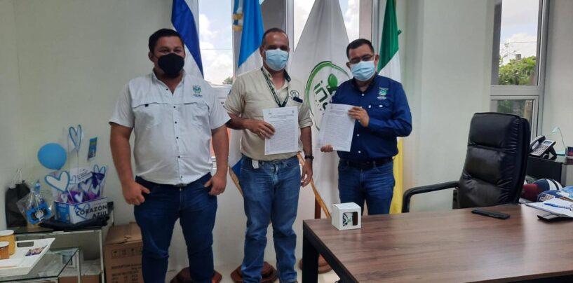 Firman Convenio de Cooperación y Coordinación Técnica con la Municipalidad de Morales, Izabal, el cual busca promover actividades que garanticen el manejo sostenible de los recursos naturales