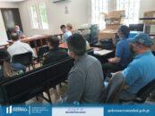 Personal de Gobernación Departamental de Izabal participó en la Mesa Técnica de Diálogo que se llevó a cabo en las instalaciones del Juzgado de Paz del Municipio de El Estor Izabal