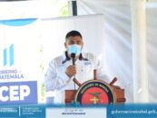 El Sr. Gobernador Departamental de Izabal, Lic. Héctor Alarcón, presidió reunión de CODEDE