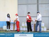 Realizan entrega de cloro y guantes quirúrgicos donados por la Embajada de los Estados Unidos a instituciones que brindan servicios de salud en nuestro Departamento