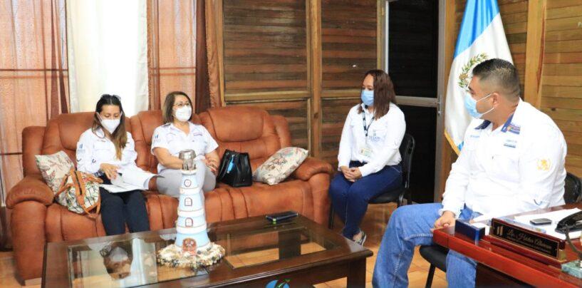 El Sr. Gobernador Departamental Lic. Héctor Alarcón, sostuvo reunión con autoridades de SESAN para conocer el panorama actual de la Seguridad Alimentaria y Nutricional del Departamento