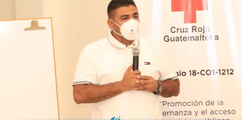 El Sr. Gobernador Departamental de Izabal, Lic. Héctor Alarcón, fue partícipe de la Mesa de Migración y Protección en Izabal donde CONADI realizó la presentación del Marco Legal de Discapacidad