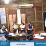 Personal de Gobernación Departamental de Izabal convocó a reunión a representantes de las distintas instituciones de Puerto Barrios para la coordinación y verificación de negocios ante las medidas de bioseguridad