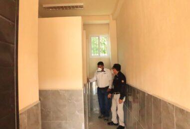 El Sr. Gobernador Departamental como Presidente del CODEDE junto al Director Ejecutivo del mismo, el Lic. Mauricio Sazo, realizaron la supervisión de Construcción del Centro Universitario ubicado en aldea las Pozas del municipio de Morales Izabal