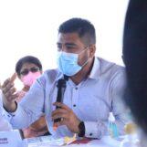 El Sr. Gobernador Departamental de Izabal el Lic. Héctor Alarcón, asistió junto al Personal y Directora del Área de Salud de Izabal, a una Citación realizada por la Diputada Licda. Lorena Teo, en la que se abordo la problemática de COVID-19 en el Departamento.