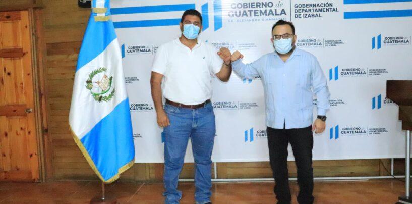 El Sr. Gobernador Departamental, Lic. Héctor Alarcón, realizó reunión bilateral con el Consulado de México en Guatemala representado por el Lic. Alejandro Martinez Peralta