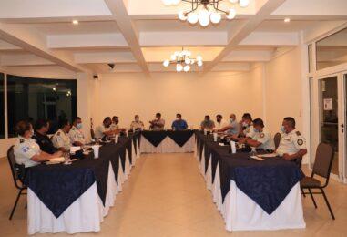 Gobernador Departamental, Lic. Héctor Alarcón, se reunió con el personal de la Policía Nacional Civil, con el fin de trazar estrategias para brindar y reforzar la seguridad ciudadana de cada uno de los municipios del departamento de Izabal